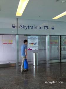 Skytrain ke T3