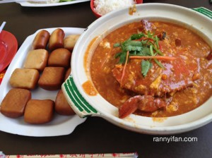 Chili Crab & Mantou