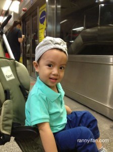 Little Train Enthusiast